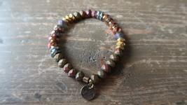 "Colorful ERMISH Stretch Bracelet 7"" - $9.89"
