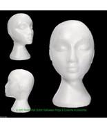 New Prop Building Supply-MANNEQUIN HEAD-Halloween costume Mask Wig Displ... - $7.89