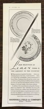 1936 Marshall Field & Company Chicago Print Ad Largest Selection of Leno... - $10.75