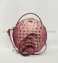 NWT Brahmin Lane Leather Shoulder / Crossbody Bag in Lotus Melbourne - $219.00