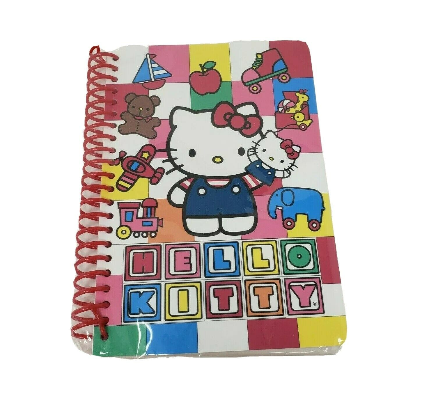 NEW IN PACKAGE SANRIO HELLO KITTY 40 SHEET JOURNAL 2010 SPIRAL NOTEBOOK BOOK - $18.70