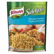 6 X Knorr Sidekicks Harvest Chicken Rice 133g Each - Canada - FRESH -Fas... - $25.39