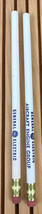 Vintage Lot of 2 General Electric Aircraft Engine Group  Pencils Lynn MA - $12.82