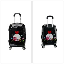"""20"""" Wheeled Carry On Luggage ABS Plastic Spiner Suitcase Travel Night Ow... - $104.08"""