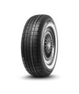 """P235/75R15 SURETRAC Power Touring 105S SL WSW (WIDE WHITE SIDEWALL) 1.5"""" - $104.99"""