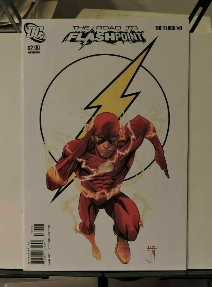 The Flash #9  apr 2011