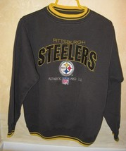 Pittsburg Steelers Sweatshirt Authentic NFL Pro Line Large L Football PA - $473,57 MXN