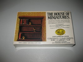 The House Of Miniatures No. 40002 Cabinet Top - New & Sealed - $24.74