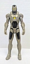 Marvel Avengers IRON MAN GREY GRAY ARMOR 4in Action Figure Hasbro 2011 Used - $11.00