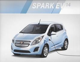 2014 Chevrolet SPARK EV brochure catalog folder US 14 Chevy LT ELECTRIC - $8.00