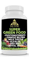 Super Green Food 100% Natural Ancient Herbal Caps. - $15.40