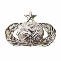 Mid Size Genuine U.S. Air Force (Usaf) Breast Badge: Logistics: Senior - $15.82