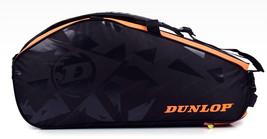 DUNLOP Elite 2 Comp Badminton Tennis Backpack Bag 1702 Black Racket Shut... - $80.01