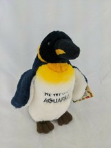"Wildlife Artists King Penguin Plush 7"" Newport Aquarium Stuffed Animal Toy - $9.95"