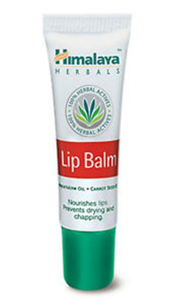 2 Himalaya Herbals Lip Balm Carrot Seed Oil Nourishes Prevent Drying Chaping 10g