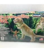 Lindberg T-Rex Tyrannosaurus Dinosaur Model Kit 70261 with Caveman Figur... - $14.50