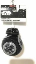 Black Droid Hallmark Star Wars Last Jedi BB-9E Blown Glass Christmas Orn... - $7.30