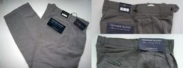 Mens Pants Pleated Chereskin   Dark Gray  42 x 32 - $22.45