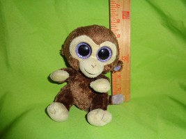TY  Beanie Boo Coconut The Monkey Plush Stuffed Animal Toy Doll Boos - $5.44