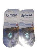 2x Refresh Your Car! Odor Eliminating Mini Diffuser Cool Breeze Vent Clip - $8.41