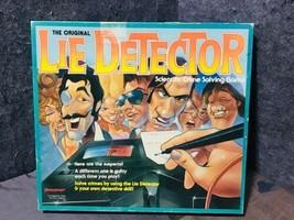 The Original Lie Detector Board Game Vintage 1987 Pressman  - $27.72
