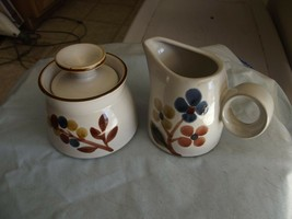 Noritake October Fest cream and sugar 1 available - $6.83