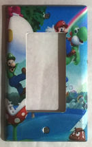 Super Mario Bro Light Switch Power Duplex Outlet Wall Plate Cover Home Decor image 6