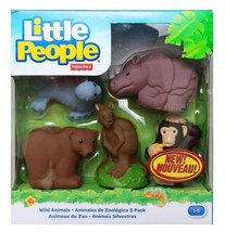 Fisher Price Little People - Pack of 5 Wild Animals  - $26.78