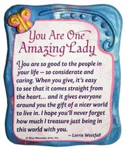 """Sculpted Magnet: You Are One Amazing Lady, 3.0"""" x 3.5"""" - $10.05"""