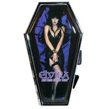 Elvira My Coffin Compact Mirror Kreepsville 666 Licensed Mistress of the... - $15.95
