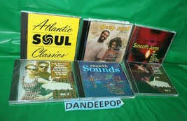 6 Smooth Jams And Soul Music CD's Collection  - $29.69