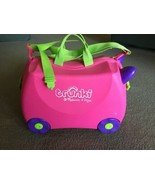 Melissa & Doug Trunki Pink Purple Green Girls Suitcase Childrens Kids Tr... - $32.66