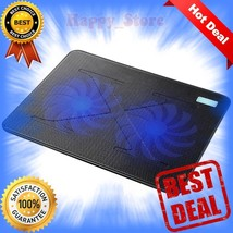 Laptop Cooling Pad 2 x 160mm Heavy Duty Fans Ultra Slim Quiet Notebook C... - ₹2,090.48 INR