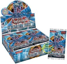 Yugioh Zexal Generation Force 1st Edition Booster Box - $76.80