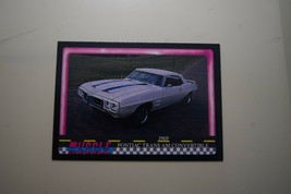 MUSCLE CARDS SERIES 1 KING OF THE HILL #51 1969 PONTIAC TRANS AM CONVERT... - $3.72
