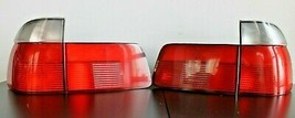 Tail Lights BMW E39 OEM Rear Full Set Touring Clear 5 Serries 1995-1999 - $177.21