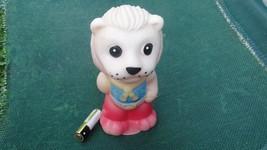 Vintage USSR Russian  Rubber Toy LION 1970s - $19.79