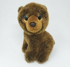 """10 """" Ty 2011 Yukon Ours Brun Bonnet Bébés Sauvage Meilleur Peluche Animal Jouet - $29.36"""