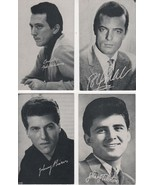 """Johnny Rivers & More 3 1/2"""" X 5 1/2"""" B/W Picture with Autobiography-by B... - $2.25"""