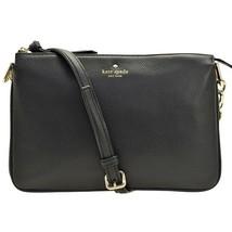NWT KATE SPADE NEW YORK Larchmont Avenue Madelyne Croosbody Bag Black WK... - $120.78