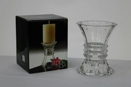 """Studio Nova Candleholder Vase 5 1/4"""" Tall New Angle QQ259/556 Mikasa Set of 2 - $18.68"""
