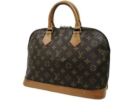 LOUIS VUITTON Alma Monogram Canvas Leather Hand Bag OLH0005 - $429.00