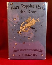 Mary Poppins Opens the Door by P. L. Travers 1st US edition in dust jacket - $367.50