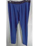 Men's Duluth Buck Naked Performance Base Layer Pants 38739 Dark Cobalt Blue - $38.71
