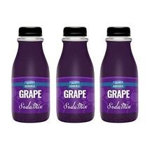 Ralph's Grape Sparkling Water Flavoring Sodamix | Three 12oz Bottles