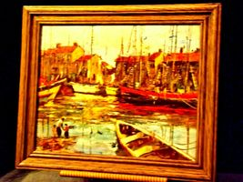 Wonderful Painting with Antique Frame from Europe  AA19-1551 image 4