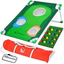 GoSports BattleChip Backyard Golf Cornhole Game | Includes Chipping Targ... - $49.07