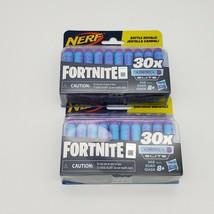 2x Official Nerf Fortnite 30x Dart Elite Refill Pack Battle Royale Darts (60) - $17.34
