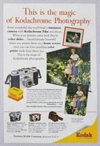 1954 Print Ad Kodak Pony 135 Camera,Signet 35,Projector,Kodachrome Rochester,NY - $8.97