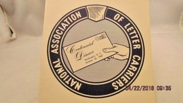 National Association of Letter Carriers First Day Issue ceremony program... - $5.89